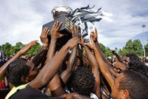The Holy Grail--Yiloga! Tiwi Footy by Monica Napper