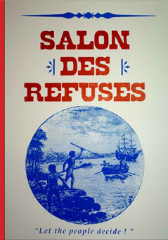 The salon des refus s aboriginal art culture an for A salon named desire