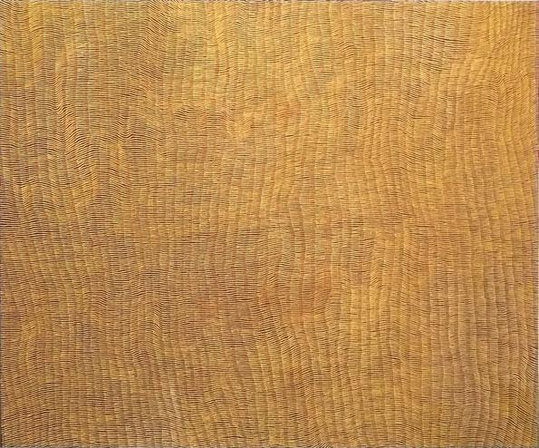 Yukultji Napangati's golden glow