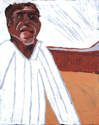 Vincent Namatjira: Portrait of my Grandfather